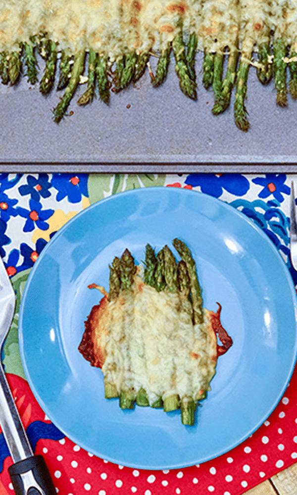 easy baked asaparagus