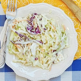 easy classic coleslaw recipe