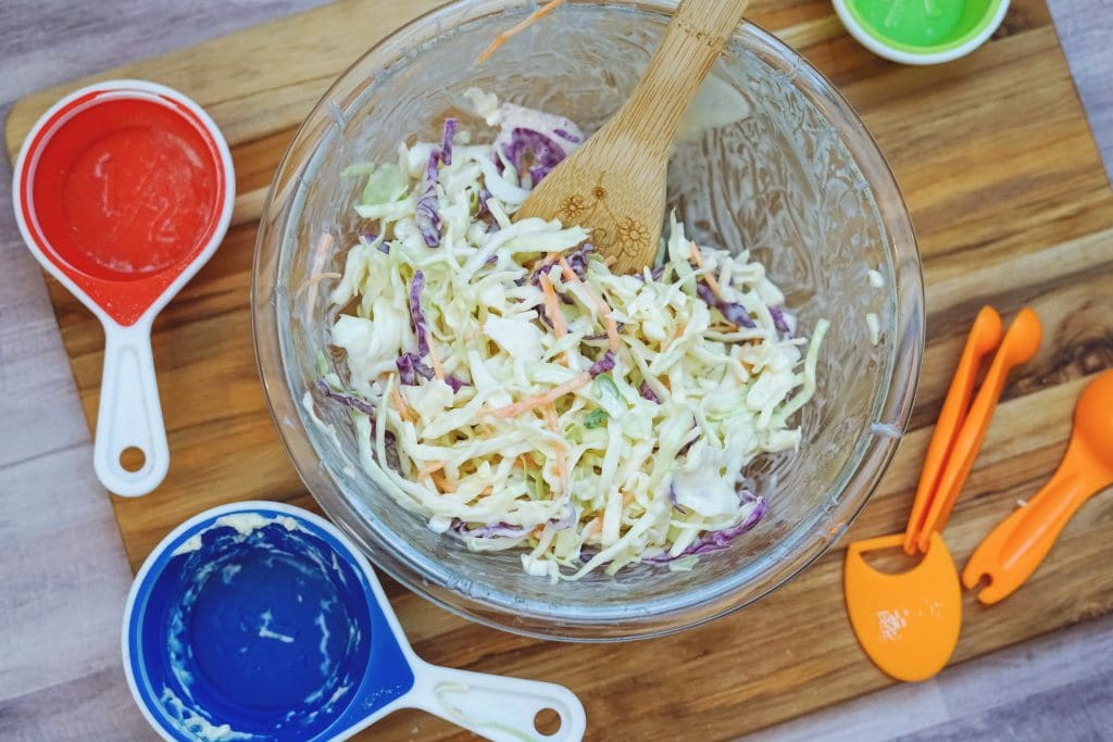easy classic coleslaw how to