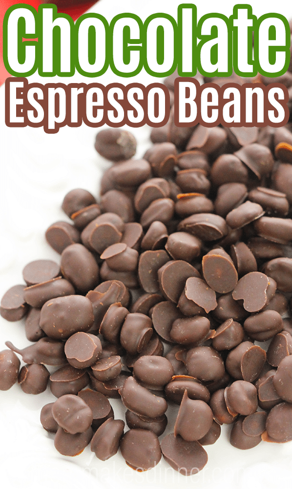how to make easy chocolate covered espresso beans