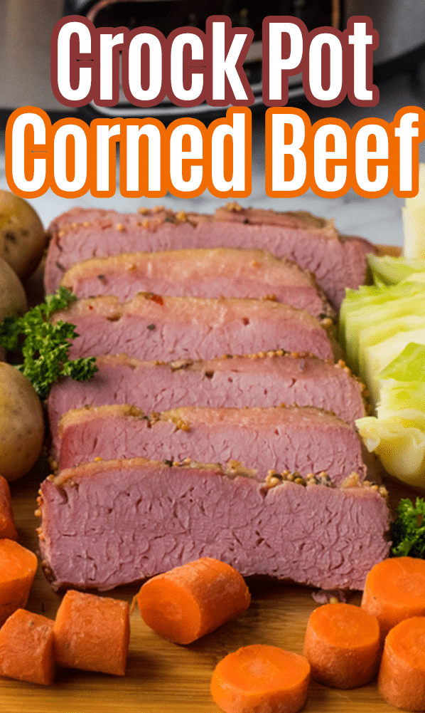 Crock Pot Corned Beef Recipe via @mommakesdinner