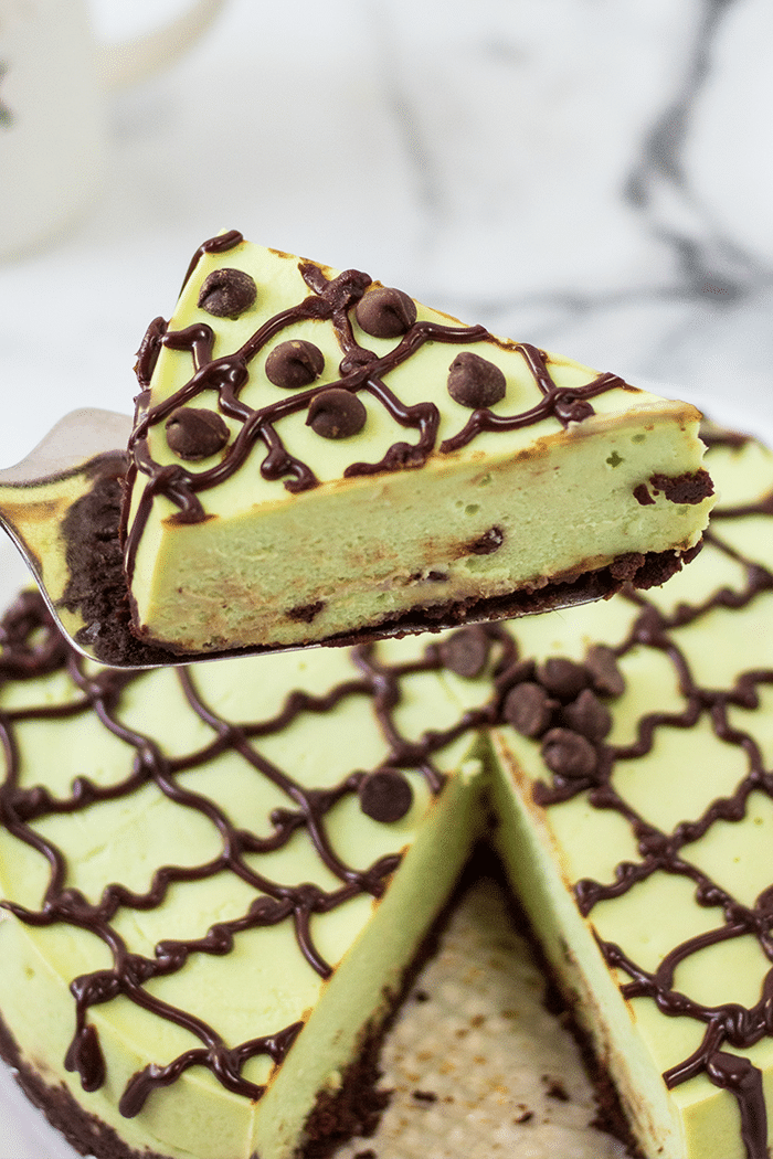mint chocolate cheesecake recipe in the instant pot