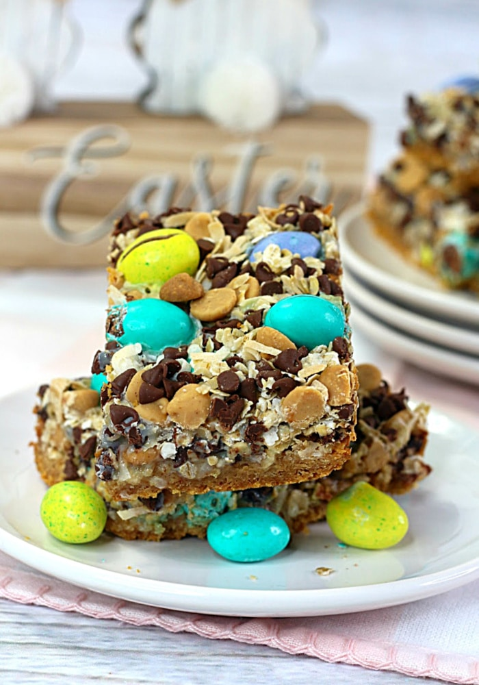 easy easter magic cookie bars