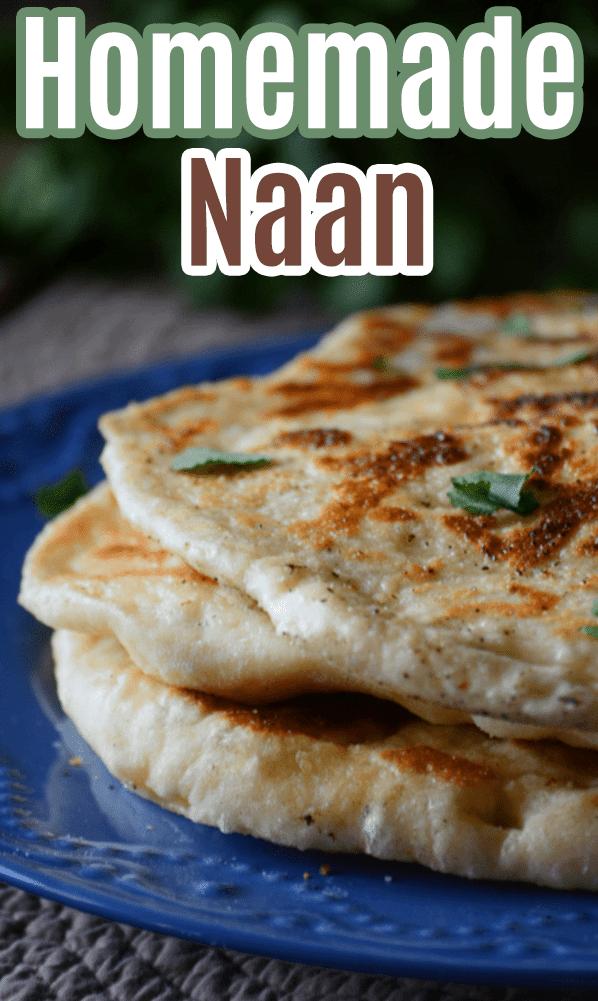 Homemade naan recipe