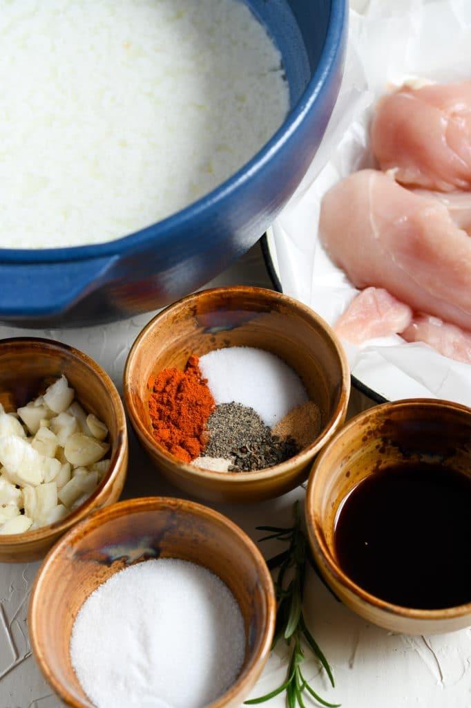 bbq chicken sandwich ingredients