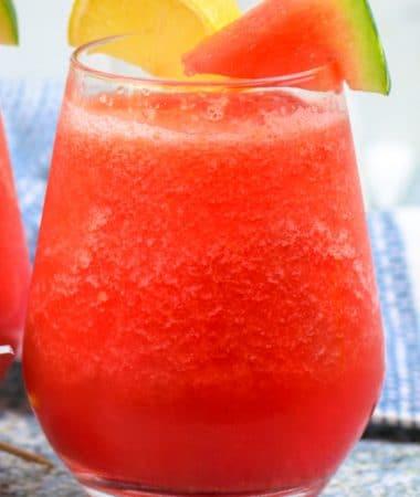 watermelon lemonade vodka slush how to make it recipe