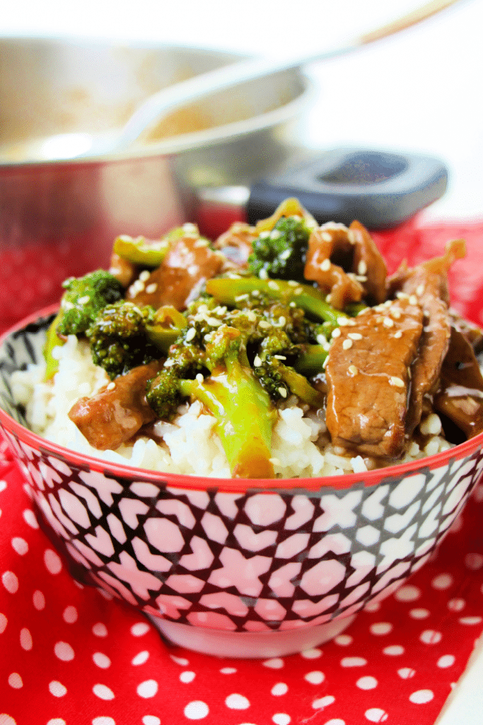 beef and broccoli dinner recipe