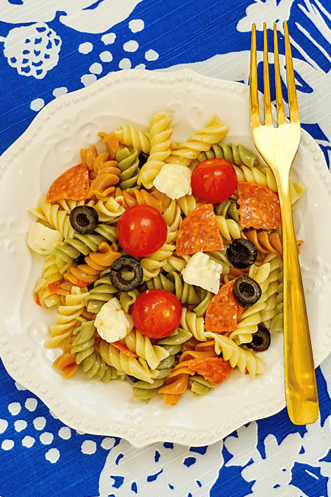 how to make classic cold pasta salad