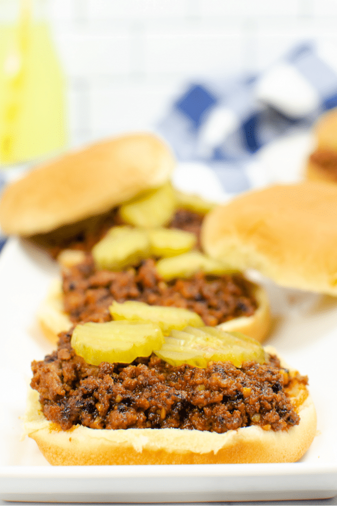 the best Sloppy Joes with Ketchup recipe