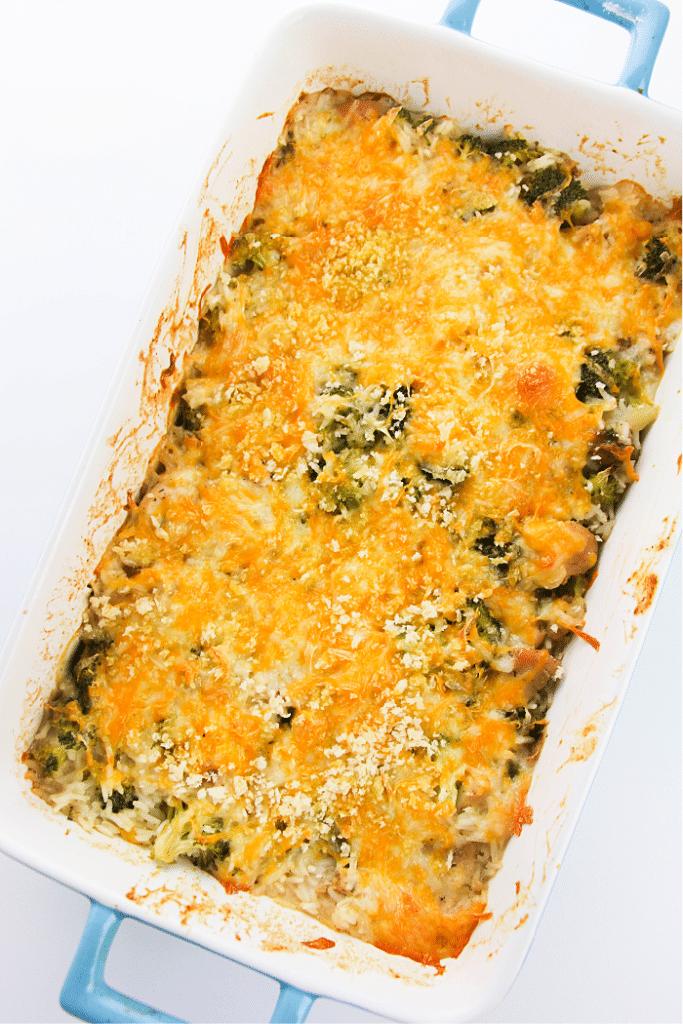 Cheesy Chicken Broccoli Rice Casserole(1)