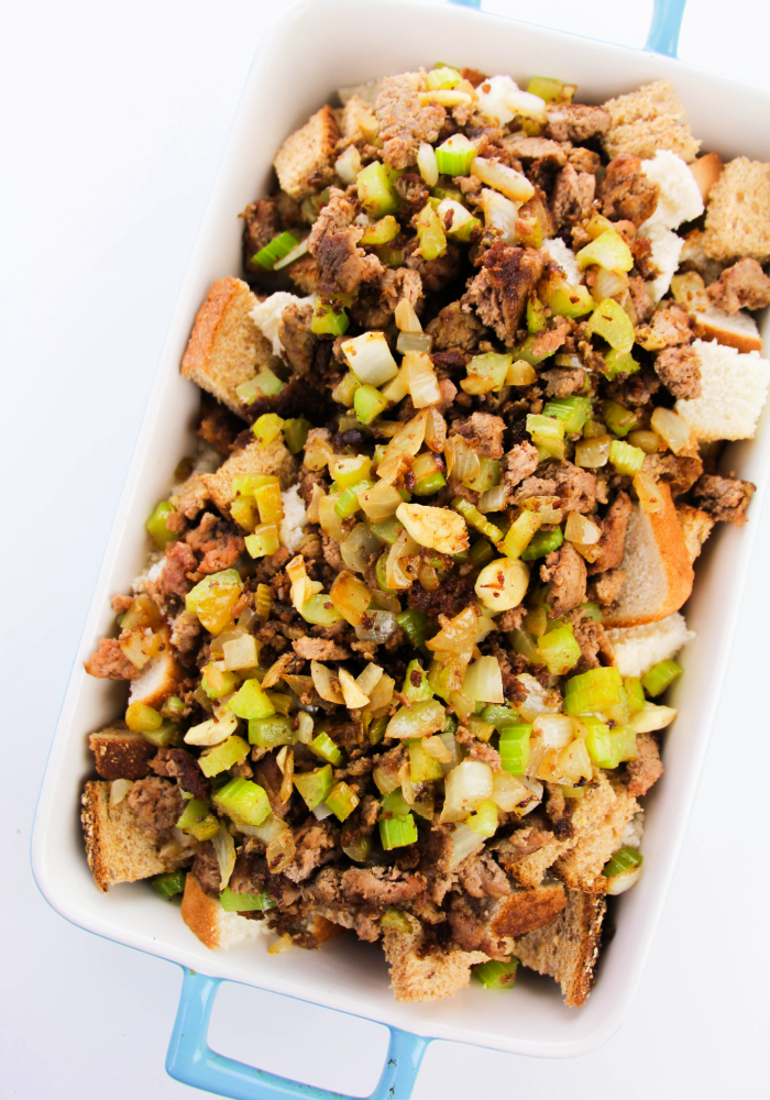 Easy sausage stuffing(1)