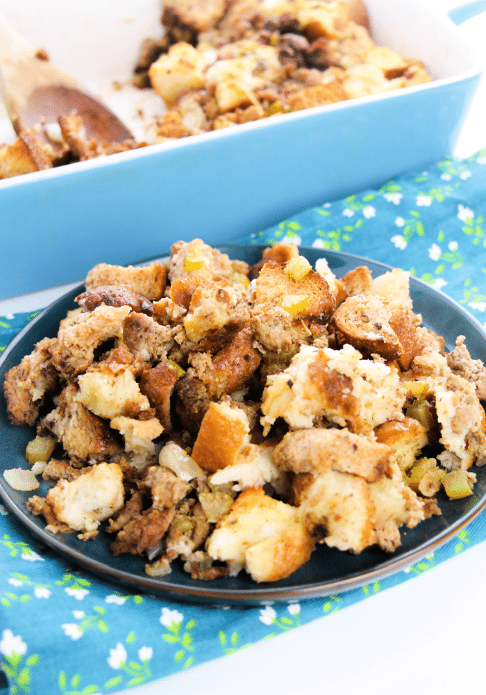 easy sausage stuffing recipe