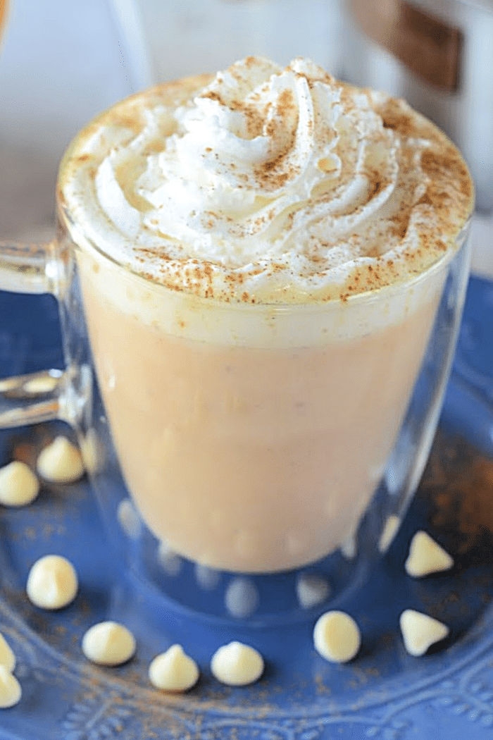 How to make a pumpkin white hot chocolate