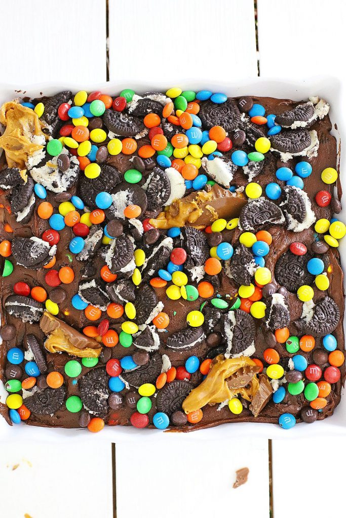 the best candy filled fudge