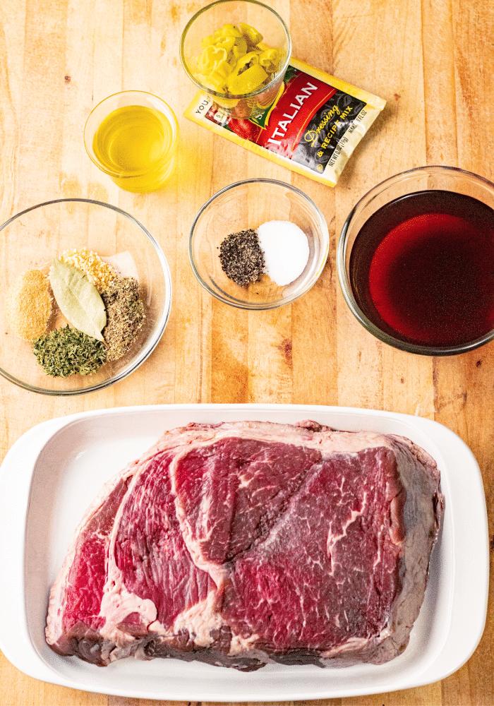 The best crock pot Italian beef recipe