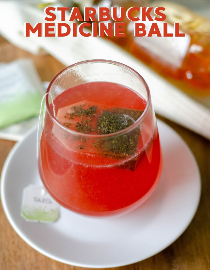 How to make a Starbucks medicine ball tea at home!