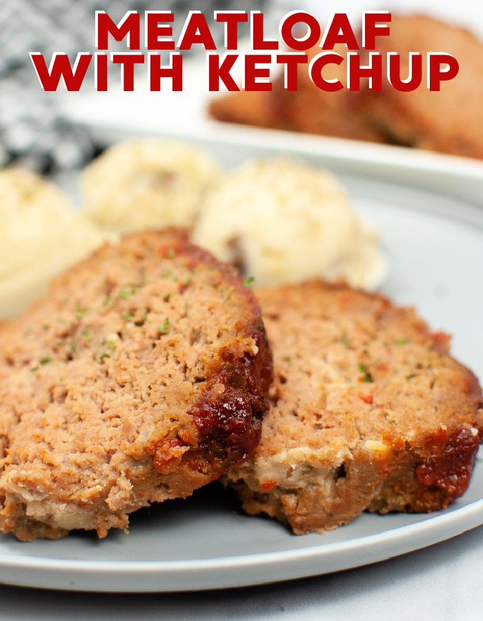 Easy meatloaf recipe with ketchup just like mom used to make