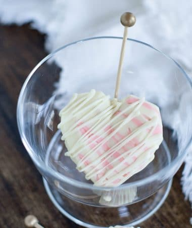 Edible white chocolate coffee spoons (8)