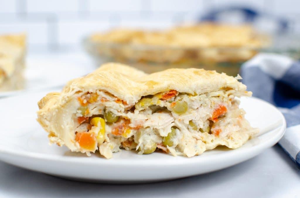 How to make leftover turkey pot pie
