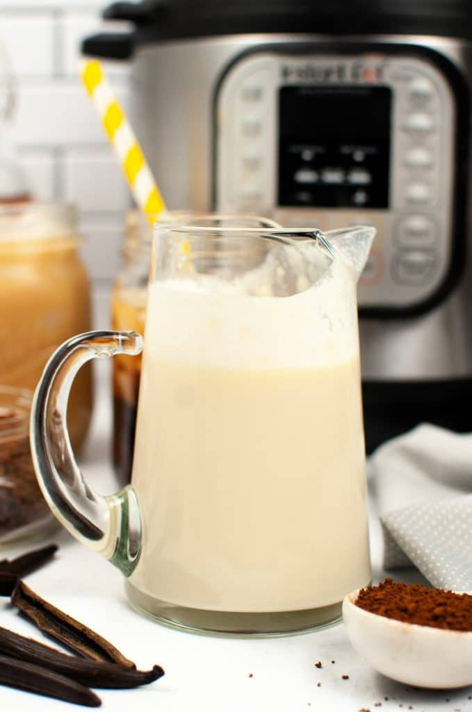 Instant Pot vanilla coffee creamer recipe