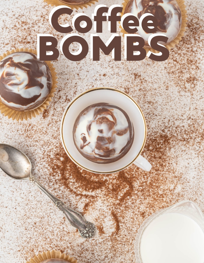 How to make hot coffee bombs