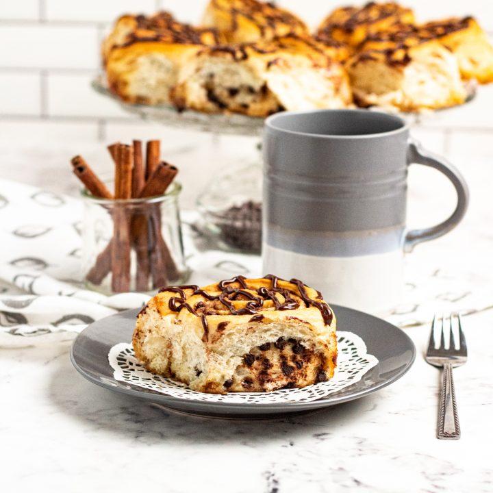 chocolate chip cinnamon roll recipe
