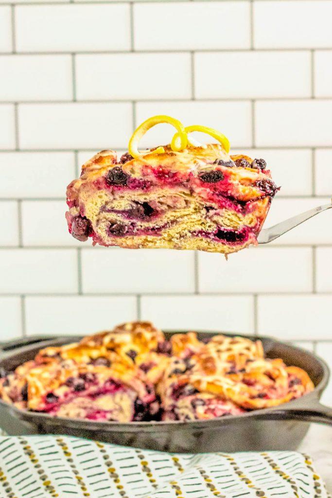 easy lemon blueberry bread recipe