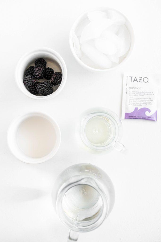 Starbucks violet drink ingredients