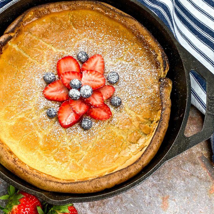 Homemade Dutch baby pancake recipe (2)