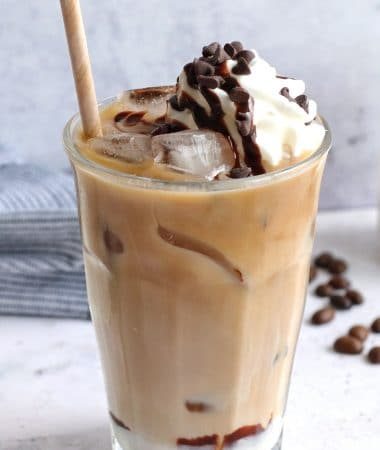 Iced S'mores Coffee