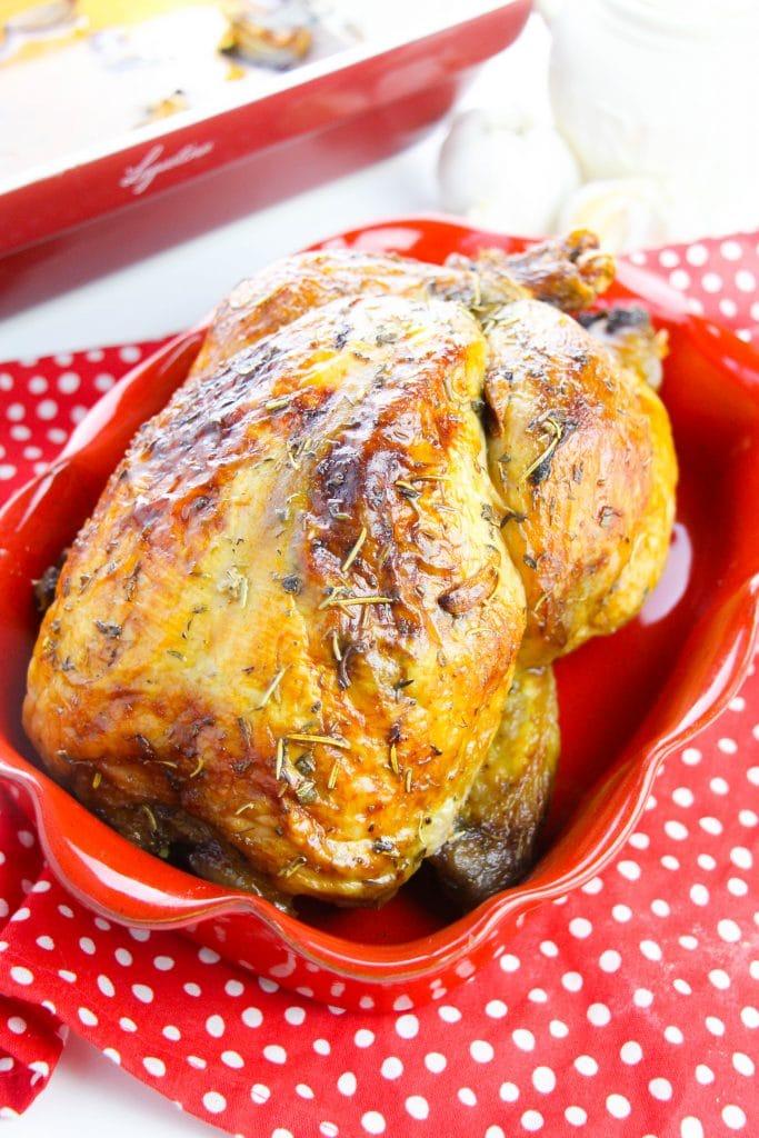 Delicious garlic butter roasted chicken (4)