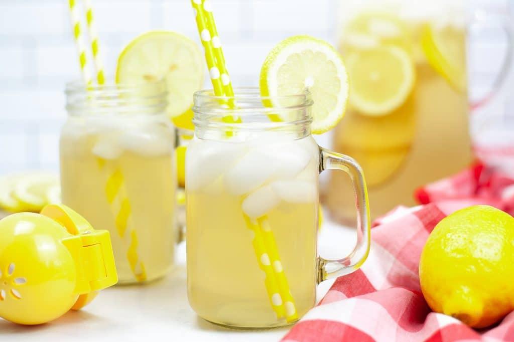 Homemade lemonade in the Instant Pot