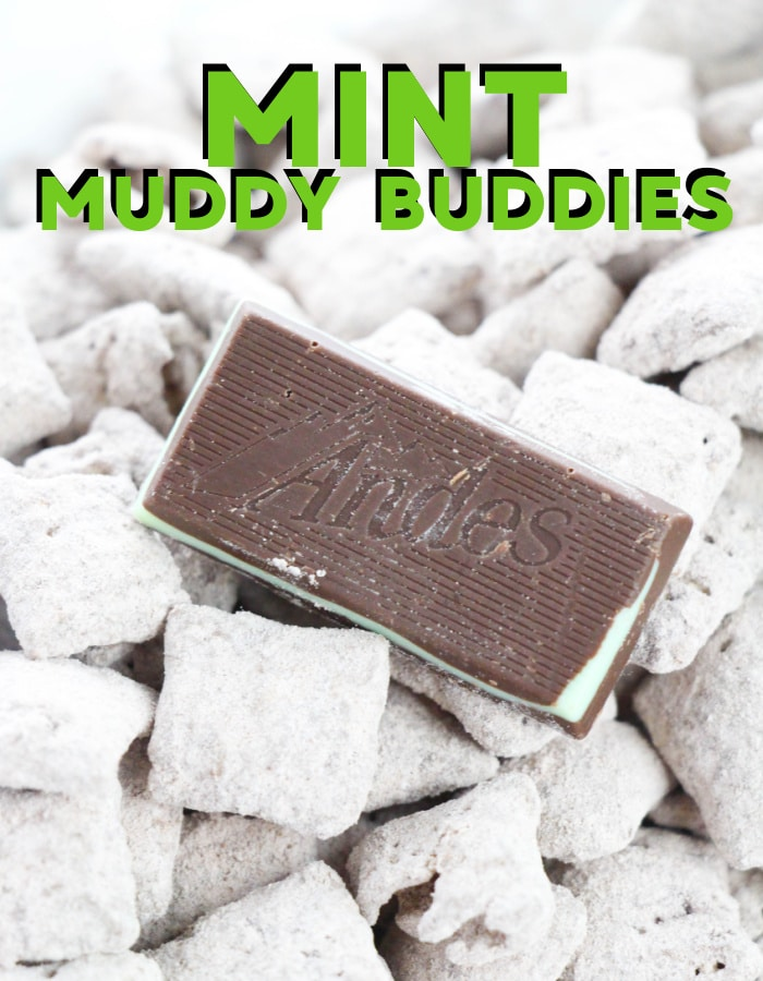 How to make Andes mint muddy buddies or puppy chow