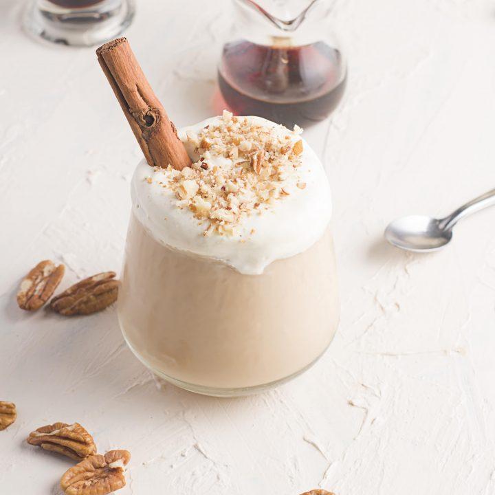 maple pecan latte