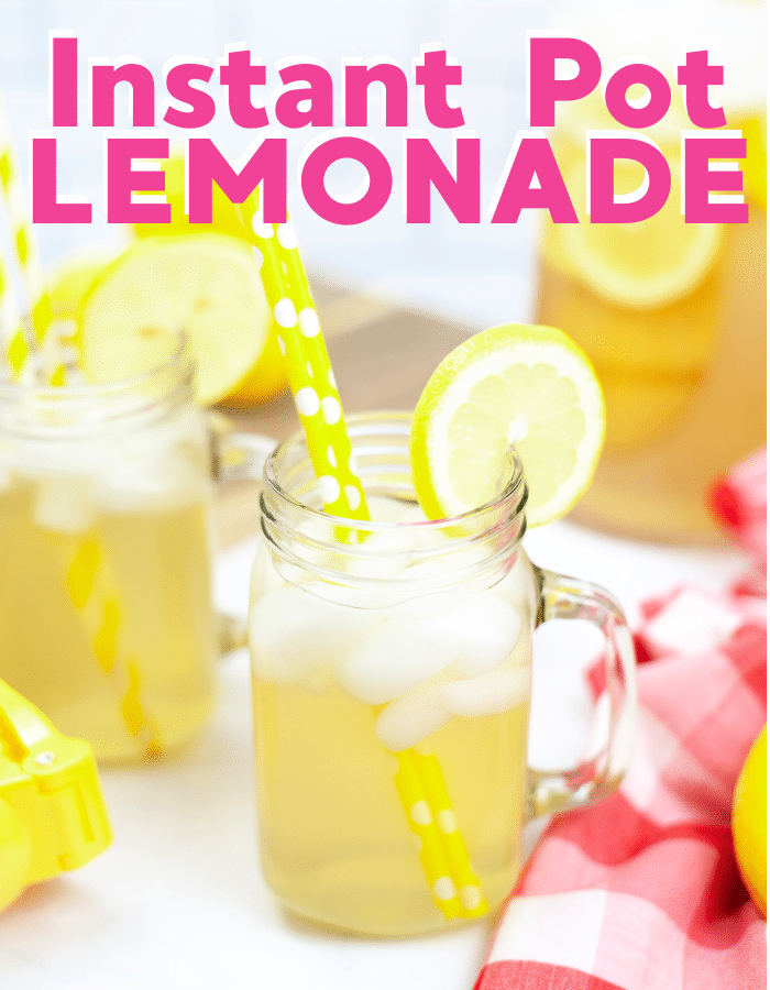 How to make lemonade in the Instant Pot