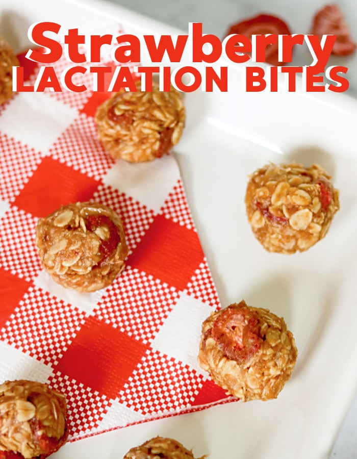 How to make strawberry lactation bites to help with your milk supply