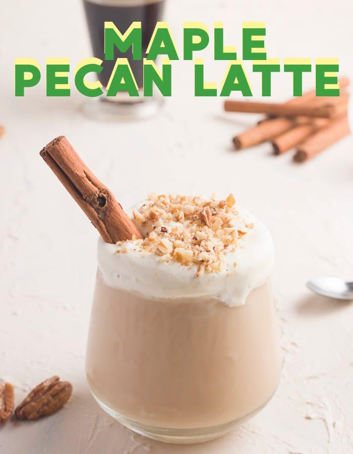 Starbucks Maple Pecan Latte