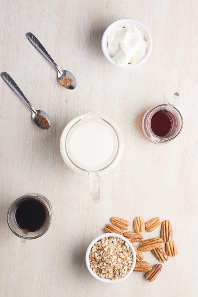 Starbucks Maple Pecan Latte Ingredients