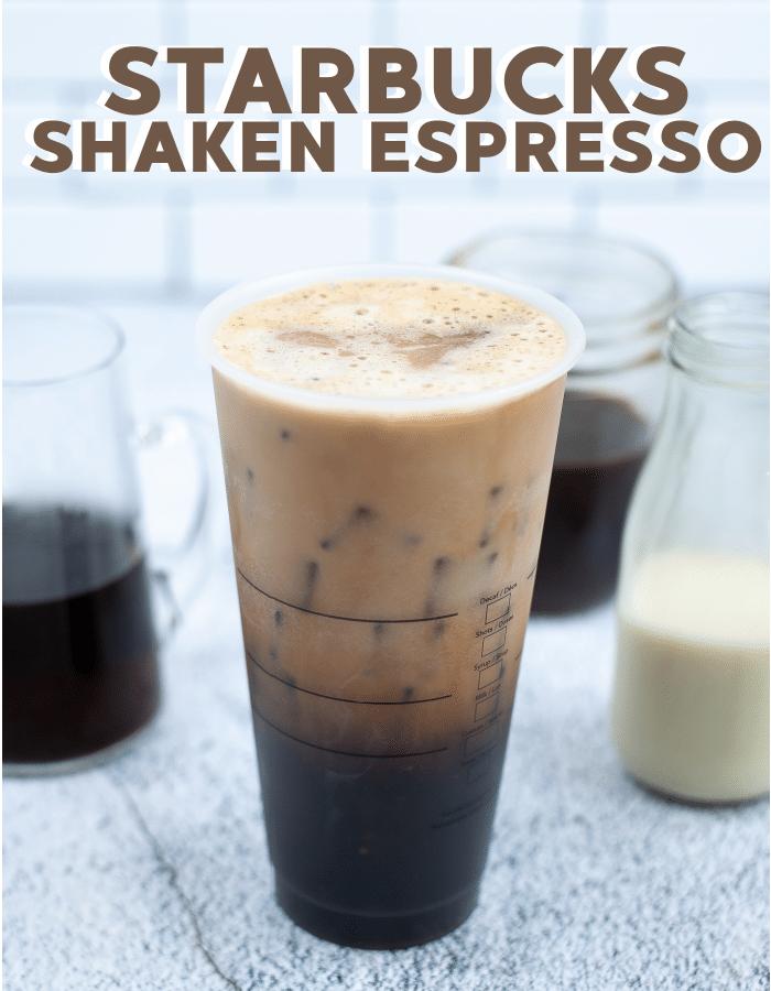 How to make starbucks brown sugar oatmilk shaken espresso at home