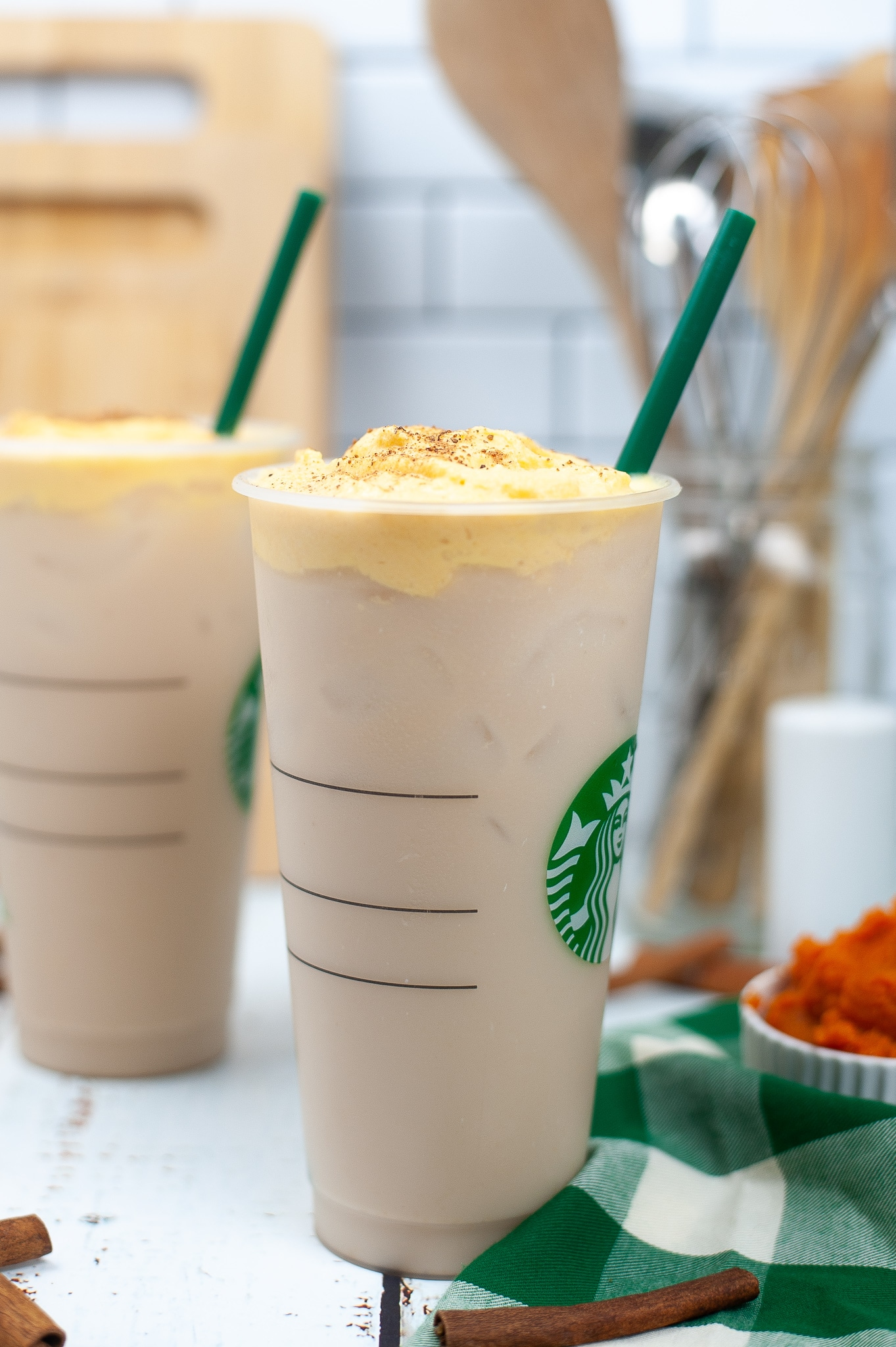 Starbucks chai latte with pumpkin sweet cream recipe (4)