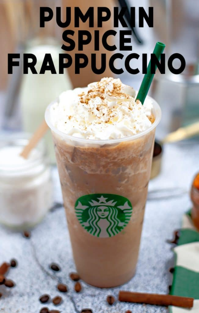 How to make a copycat Starbucks pumpkin spice frappuccino at home