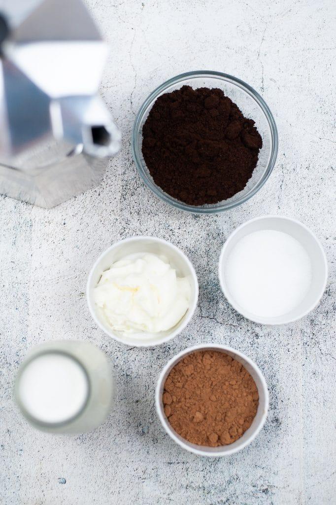 Iced Mocha Ingredients