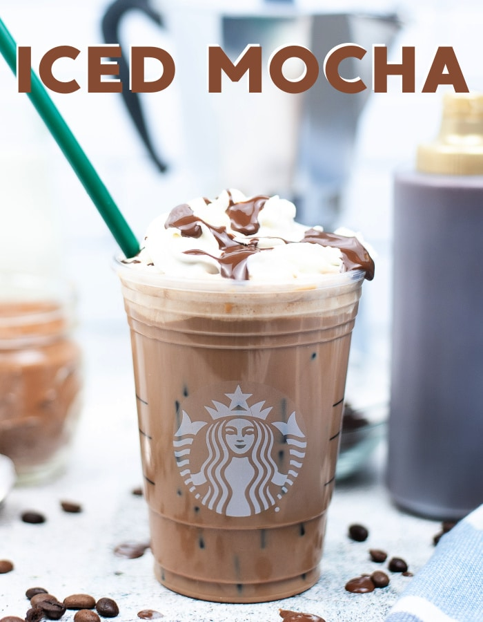 Make this delicious Starbucks iced mocha recipe at home