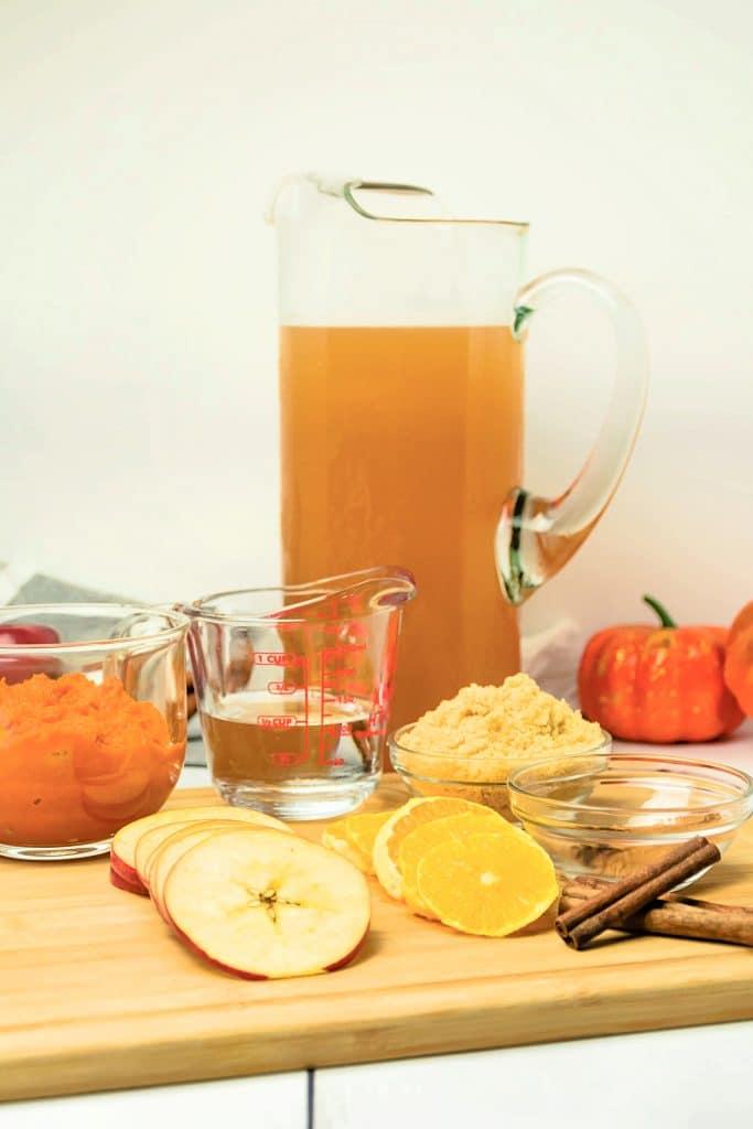 Pumpkin cider Ingredients