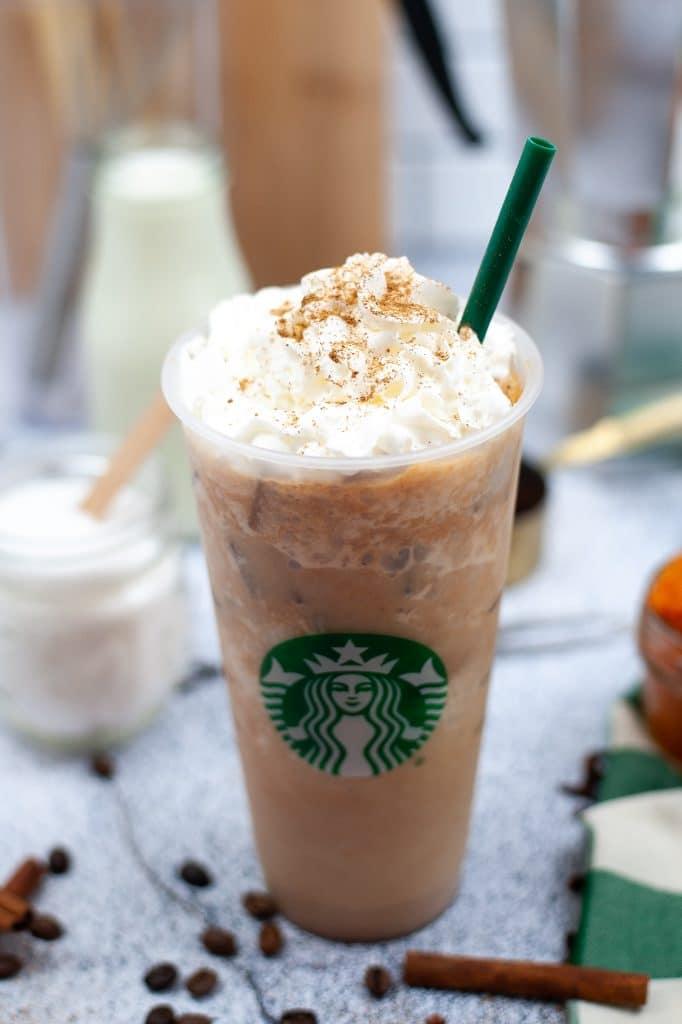 Starbucks pumpkin pie frappuccino