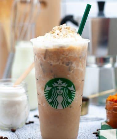 Starbucks pumpkin spice frappuccino (5)