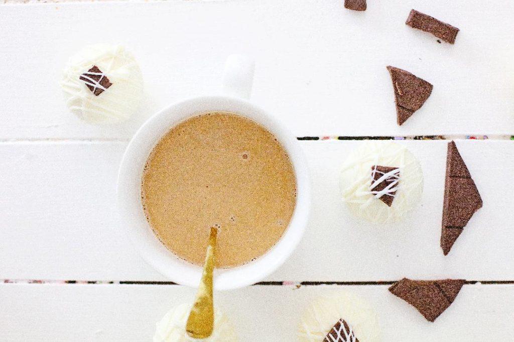 white chocolate cocoa